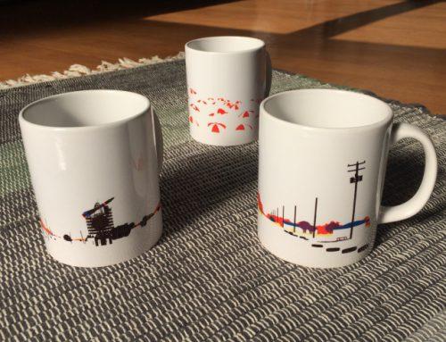CINRA.STOREで内田文武グッズ(マグカップ、トートバッグ、テキスタイルパネル)の販売が開始されました。